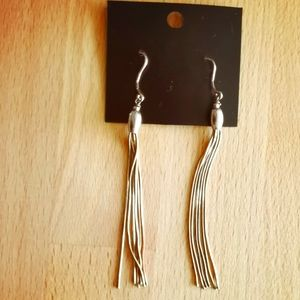 Sterling silver earring strands